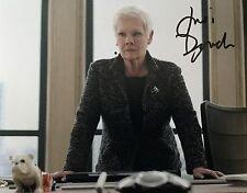 Judi Dench signed 10x8 Image B photo (UACC Registered AFTAL approved dealer COA)