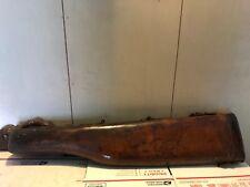 Vintage Leather Break Down Gun Case Hard Side