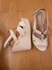 Original Valentino Wedges 37 Nude