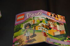 Lego Friends Andrea's Bunny House (3938) Complete Retired Set