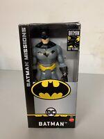 "DC BATMAN 6"" Inch Scale Batman Missions Figure Mattel GCK97 B1"