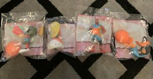 Official McDonald's Happy Meal Toy Character Space Jam 2021 Set Of Four Sealed