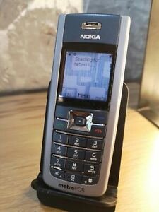 Nokia 6235i - Gray (MetroPCS) Cellular Phone Very Rare - For Collectors