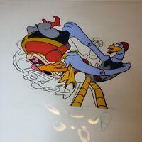 Sonic the Hedgehog Original Animation Cel - Dr. Robotnik & Scratch - w/Sketch