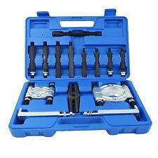 "14pc Two Bearing Seperator Splitter Puller Gear 2"" & 3"" Pulley Steering Wheels"
