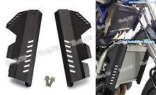 Radiator Side Cover Guard Aluminum Black Fit 2014-2017 YAMAHA MT-07 FZ07 RM04 US