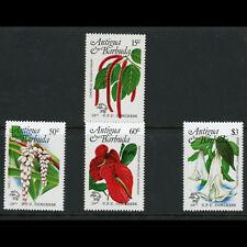ANTIGUA & BARBUDA 1984 UPU. Flowers. SG 835-839. Mint Never Hinged. (AX016)