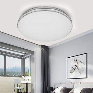 18W LED Ceiling Lights Flush Round Panel Down Light Living Room Kitchen Bathroom