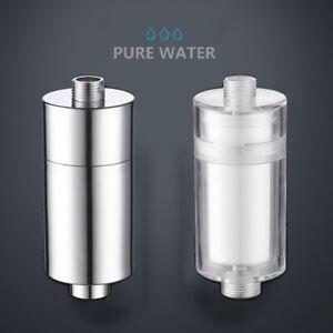 Shower Head Filter Water Softener for Hard Water Chlorine Purifier Universal