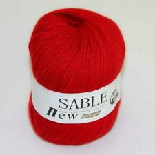 Sale 1ballX50g Soft Pure Sable Cashmere Wrap Shawl Hand Knitting Wool Yarn Red