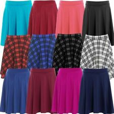 Polyester Party Short/Mini Plus Size Skirts for Women