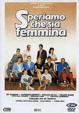 Dvd SPERIAMO CHE SIA FEMMINA - (1986) Film - Drammatico Mustang...NUOVO