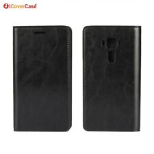 Luxury Genuine Leather Wallet Case Cover For Asus Zenfone 3 Deluxe 5.5 ZS550KL