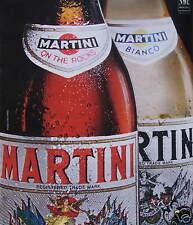 PUBLICITÉ APÉRITIF MARTINI ON THE ROCKS ET BLANC BIANCO
