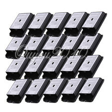 20x Battery Pack Cover Shell Case Kit fr Xbox 360 Slim Wireless Controller Black