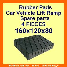 Universal Scissor Lift Pads - H80 - Ramp Rubber Blocks - Made in Italy -HQuality
