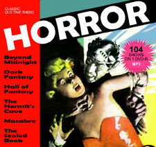 Horror Radio - 104 OTR shows on DVD-R Old Time Radio MP3s