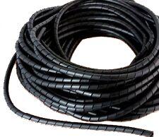 50 Metros Cinta Helicoidal 6mm Agrupar Cables Protección Instalación Bricolaje
