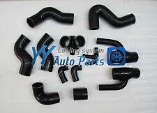 Audi S4 RS4 2.7 Bi-turbo Silicone Turbo Radiator hose kit 12pcs Black