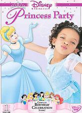 Disney Princess Party - Vol. 1 (DVD, 2004)  Brand NEW w/Buena Vista Seal