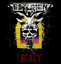 TESTAMENT cd cvr THE LEGACY Official SHIRT LRG New vintage style