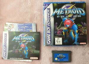 Metroid Fusion for GBA - AUS PAL Complete (CIB) with New Battery