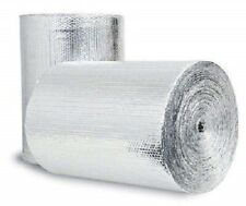 Double Bubble Reflective Foil Insulation (48in X 10Ft Roll) Industrial Strength
