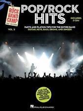 Pop/Rock Hits - Rock Band Camp Volume 3: Book/2-