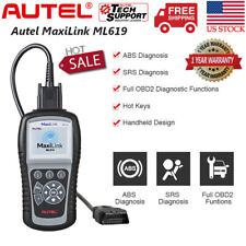 Autel MaxiLink ML619 OBD2 SRS ABS AirBag Auto Diagnostic Scanner OBD Code Reader