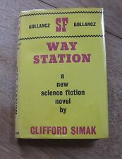 WAY STATION by Clifford Simak - 1st/2nd UK Gollancz - 1964  HCDJ - Hugo Award