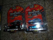 2 LOT 1 BADD RIDE 2005 CORVETTE C6 SERIES 1 BLACK SCALE 1:64 & FORD SHELBY GR-1