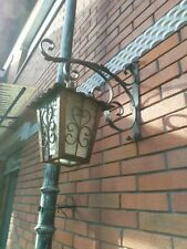 Lampione da esterno mis h.105 a una luce con impianto completo