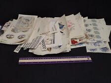 Huge Lot Waterslide Decals for Ceremics Assorted Vintage Floral, Alphabet, etc