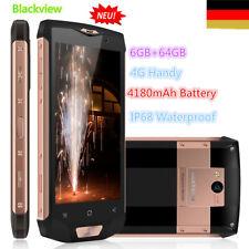 "Blackview BV8000 Pro 5.0"" 6+64GB 8Core Android 4G Smartphone Handy 4180mAh EU"