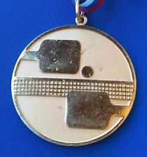 15. Balkans champion 1978 NIŠ Serbia, Table Tennis vintage plaque medal !
