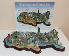 Danbury Mint Sea To Shining Sea Usa Best Known Building Landmark Figure Figurine