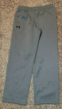 Under Armour UA STORM Boys ColdGear Warm Up Sweatpants YLG Youth Large Gray