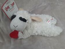 "10"" Large Lambchop Plush Squeaky Dog Toy by Multipet"