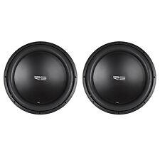 """(2) RE Audio SXX15D4 V2 SXXV2 15"""" 2400W RMS Dual 4-Ohm Car Sub Subwoofers"""