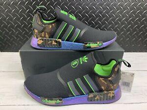 JuJu Smith-Schuster X NMD_ R1 Black/Camo Boost Men's Shoes Size 12 FZ5410