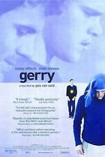 Gerry Original D/S Rolled Movie Poster 27x40 NEW 2003 Matt Damon Casey Affleck