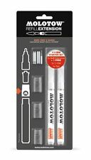 MOLOTOW REFILL EXTENSION - 111EM STARTER KIT - EMPTY 2mm MARKERS & NIBS