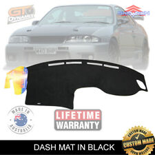 DASH MAT NISSAN R33 Skyline 1/1993-2000 GTS GTS-T GT-R DM865 in Black