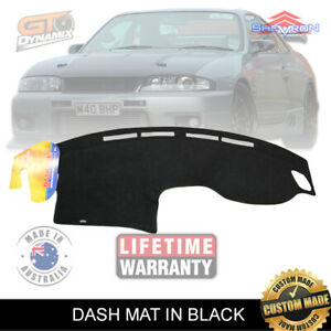 DASH MAT NISSAN R33 Skyline 1/1993-2000 GTS GTS-T GT-R DM865 in Black