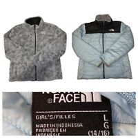 The North Face Girl's Mossbud Reversible Full Zip Jacket Size Large (14/16)