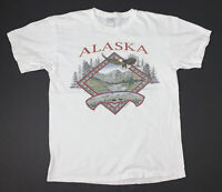 Vintage 90s Alaska T-Shirt Size Large