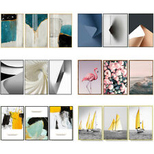 12x20in Abstract Canvas Print Picture Paintings Photo Wall Art Home Decor 3Piece