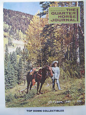 The Quarter Horse Journal   October  1965   A Salute To Roxie Savoy
