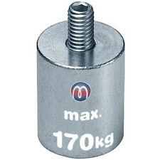 Stabgreifer Haltemagnet Neodym (NdFeB) mit Gewindezapfen, Ø 6 - 63mm - bis 170kg