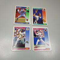 1992 Score MLB Baseball Cards Bulk Lot Of 23